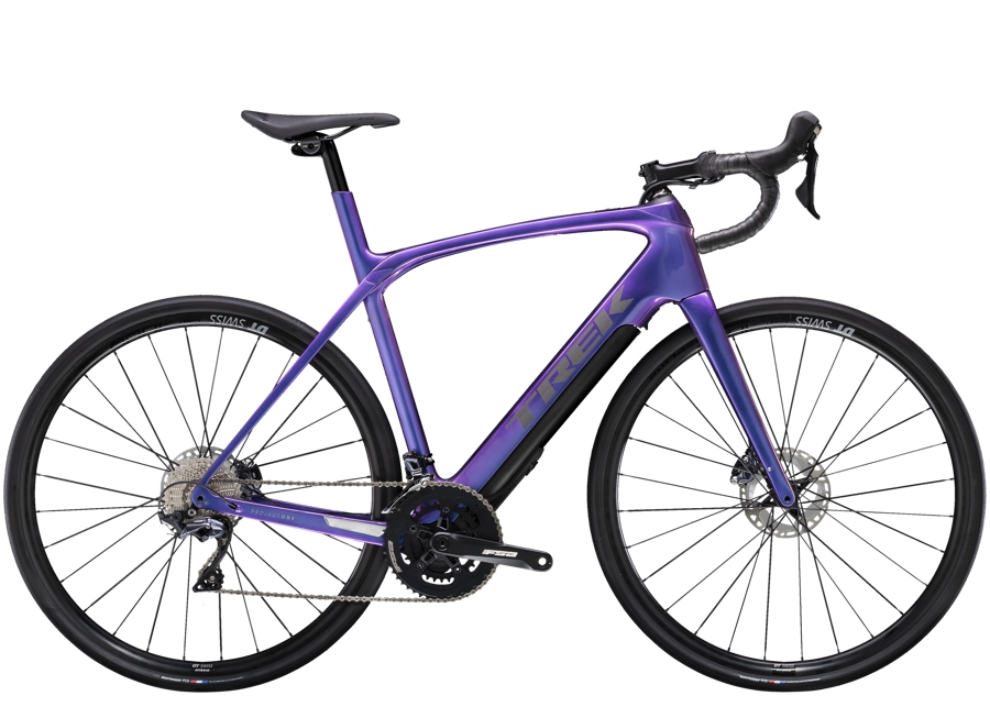 Trek Domane+ LT 54 Gloss Purple Flip