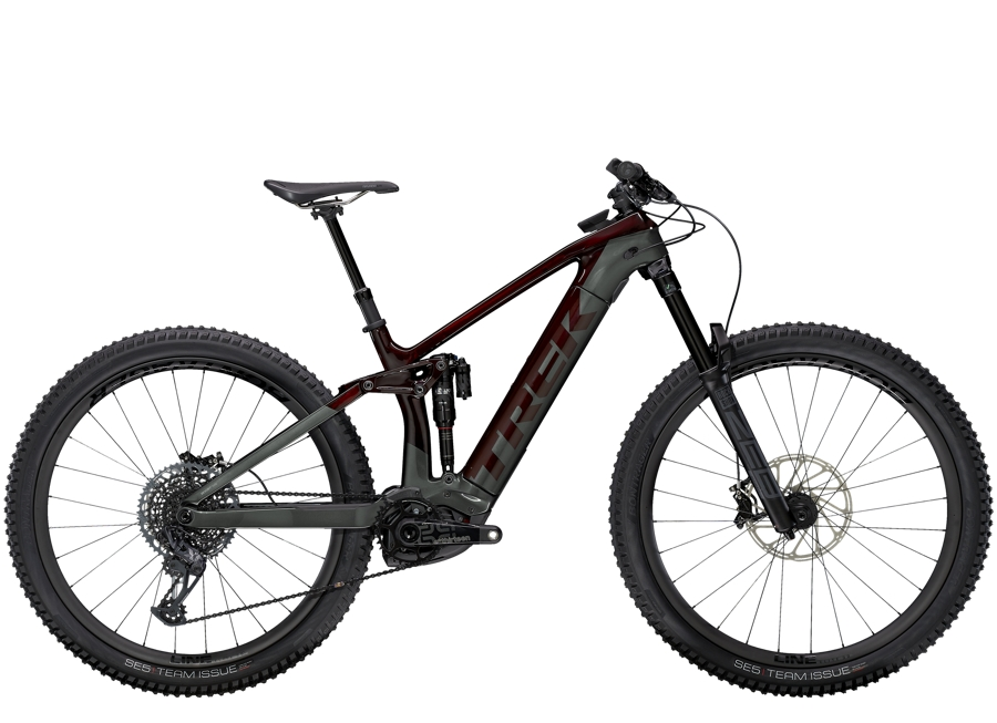 Trek Rail 9.9 L Carbon Red Smoke/Lithium Grey