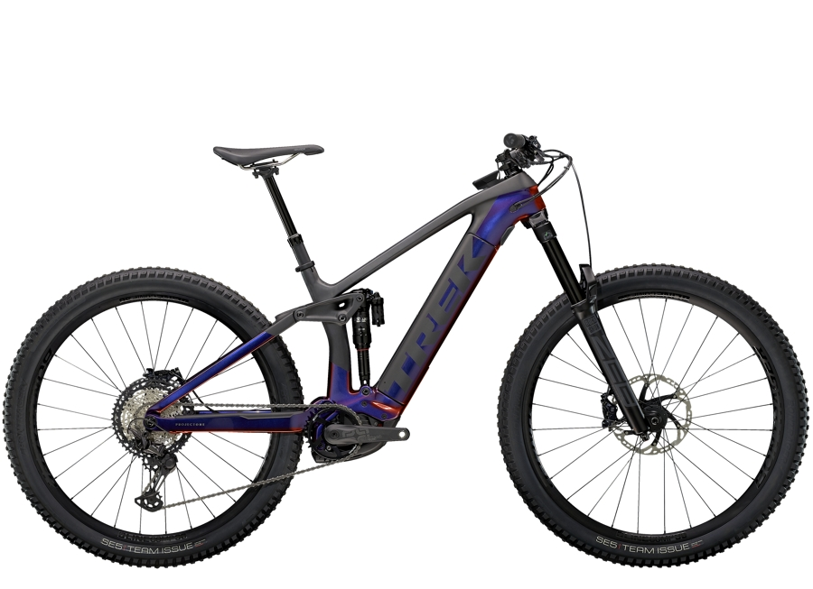 Trek Rail 9.8 XT L Gloss Purple Phaze/Matte Raw Carbon