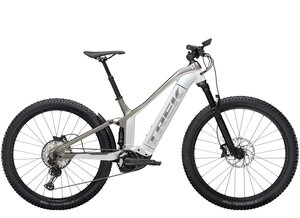 Trek Powerfly FS 7 S (27.5  wheel) Crystal White/Metallic Gunmetal