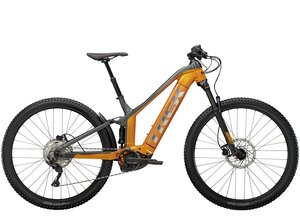 Trek Powerfly FS 4 625 XS (27.5  wheel) Factory Orange/Lithium Grey