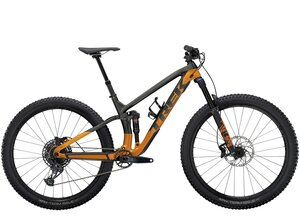 Trek Fuel EX 9.7 S (29  wheel) Lithium Grey/Factory Orange