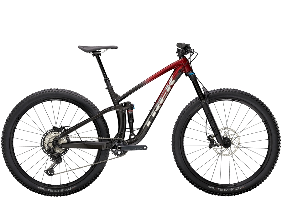 Trek Fuel EX 8 XT L (29  wheel) Rage Red to Dnister Black Fade