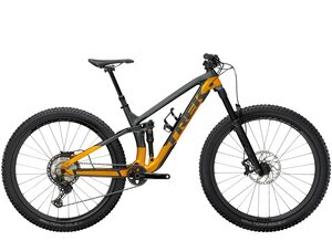 Trek Fuel EX 9.8 XT S (29  wheel) Lithium Grey/Factory Orange