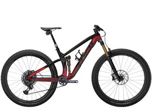 Trek Fuel EX 9.9 X01 AXS S (29  wheel) Raw Carbon/Rage Red