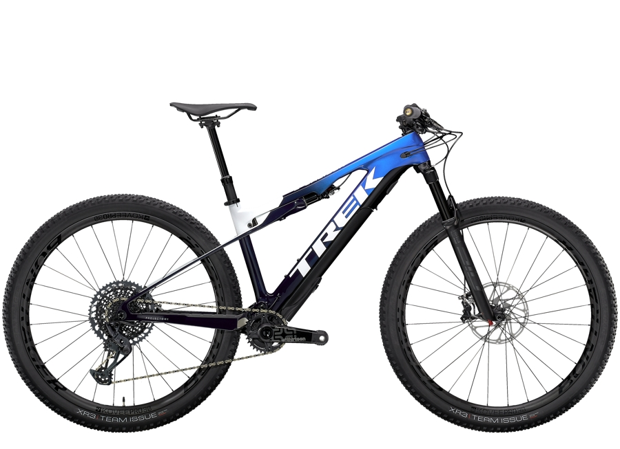 Trek E-Caliber 9.8 GX L (29  wheel) Gloss Alpine Navy Smoke/White